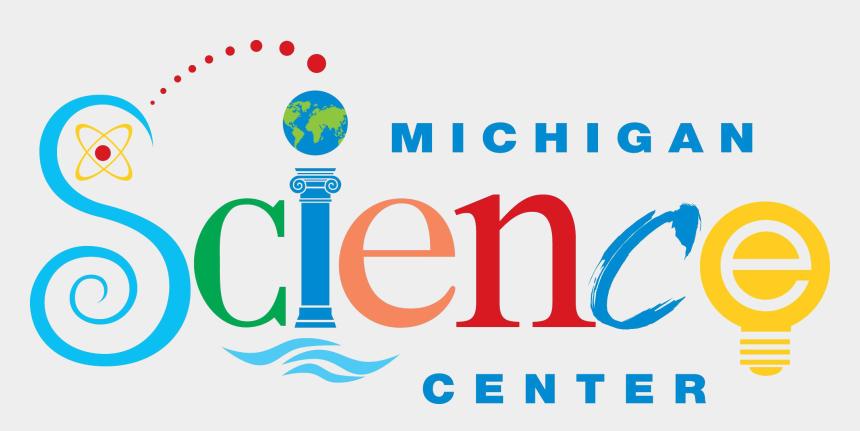 science center clipart, Cartoons - 2019 Tadl Summer Reading Club - Michigan Science Center Logo