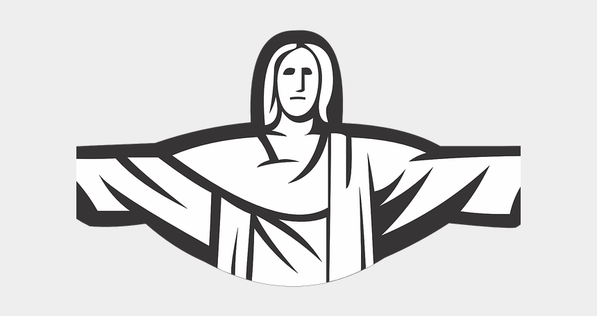 christ clipart, Cartoons - Christ The Redeemer Clipart Drawing - Christ The Redeemer Cartoon