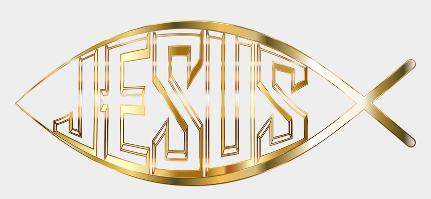 christ clipart, Cartoons - Faith Clipart Clipart Jesus - Christian Fish Symbol No Background