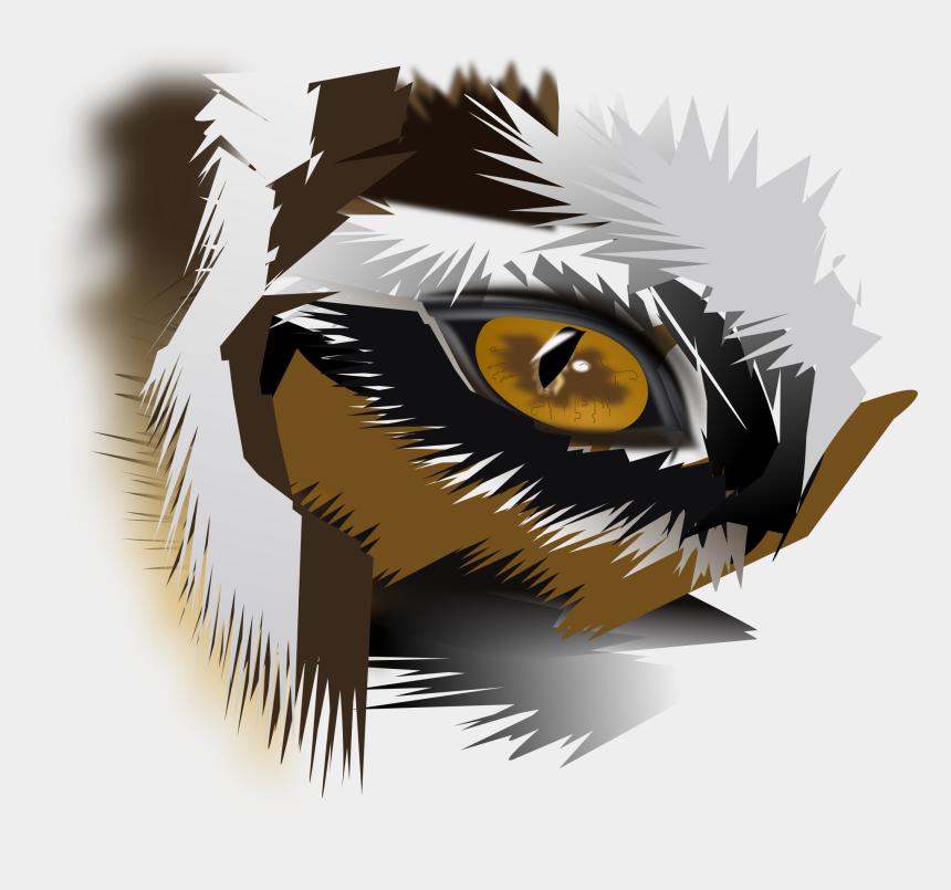 tigers clipart, Cartoons - Drawing Tigers Eyes - Logo Png Tiger Eyes