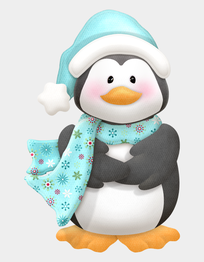 winter penguin clipart, Cartoons - Фото, Автор Ольга На Яндекс - Pinguinos De Navidad Png