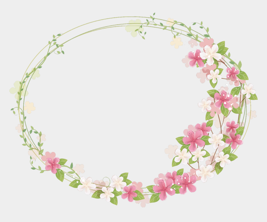 floral frame clipart, Cartoons - Floral Frame Png Photos - Cute Flower Frame Png