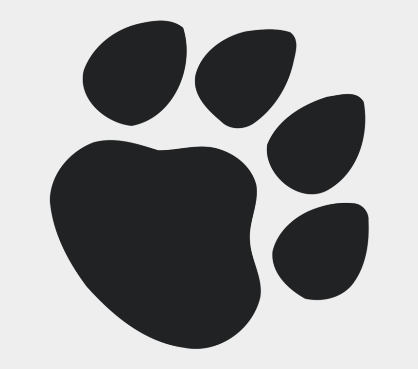 paw print heart clipart, Cartoons - Dog Paw Vector Png