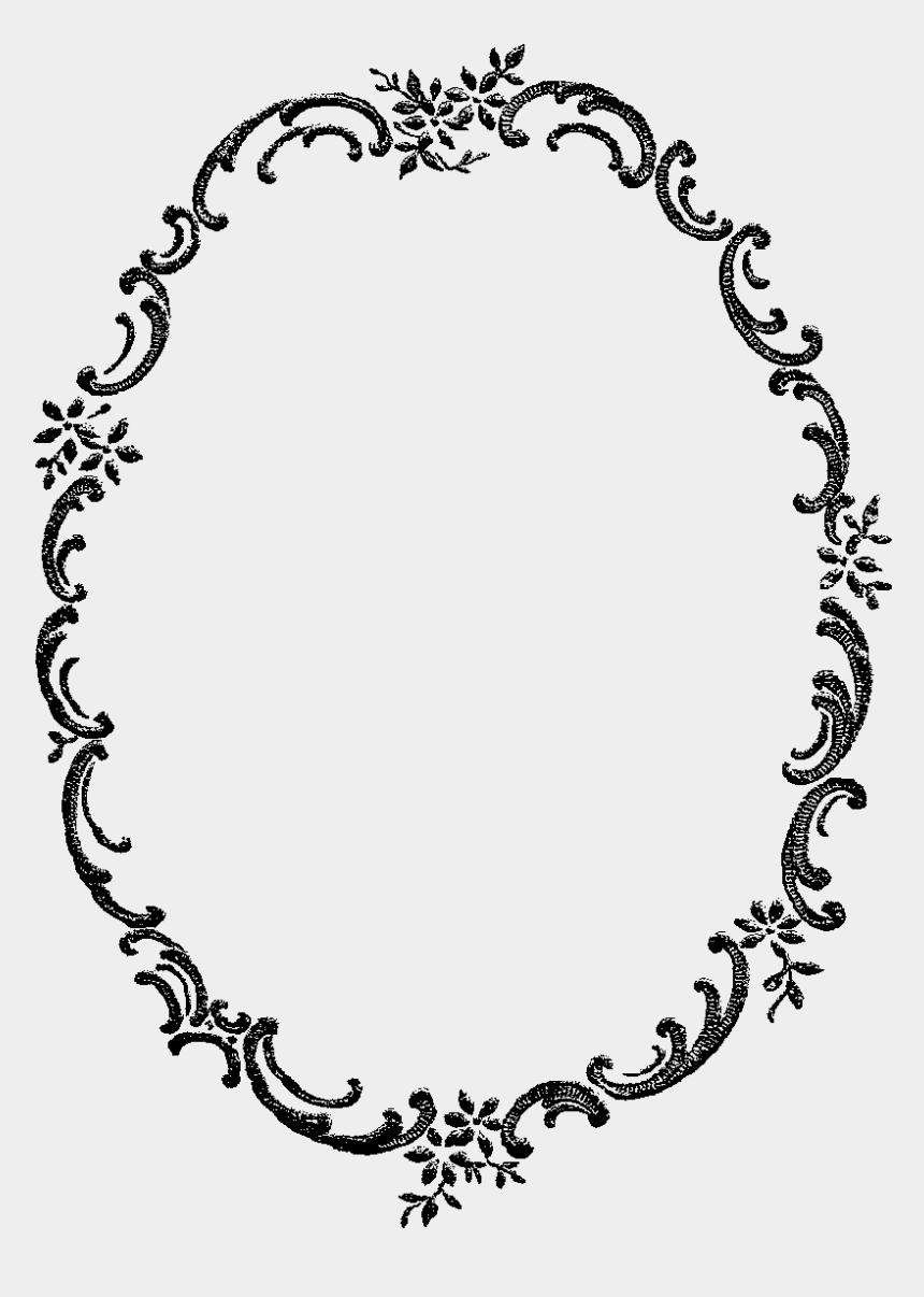 floral frame clipart, Cartoons - Digital Stamp Design - Gold Frames Design Png