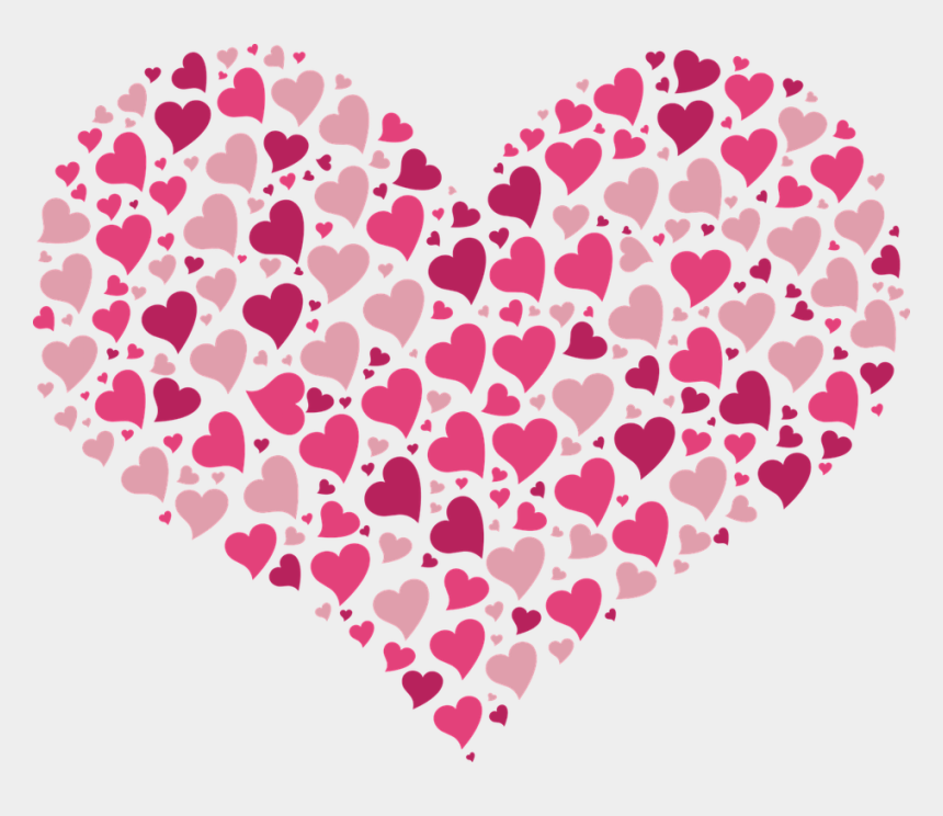 valentine hearts clipart, Cartoons - Valentine Hearts Images Clip Art - Heart Full Of Hearts