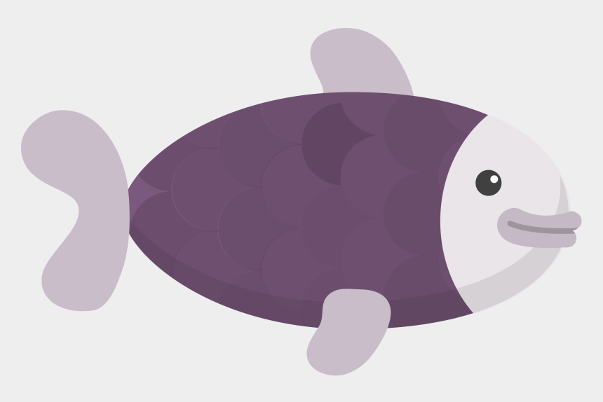 underwater clipart background, Cartoons - Collection Of Free Whale Vector Manatee - Fish Flat Design Png