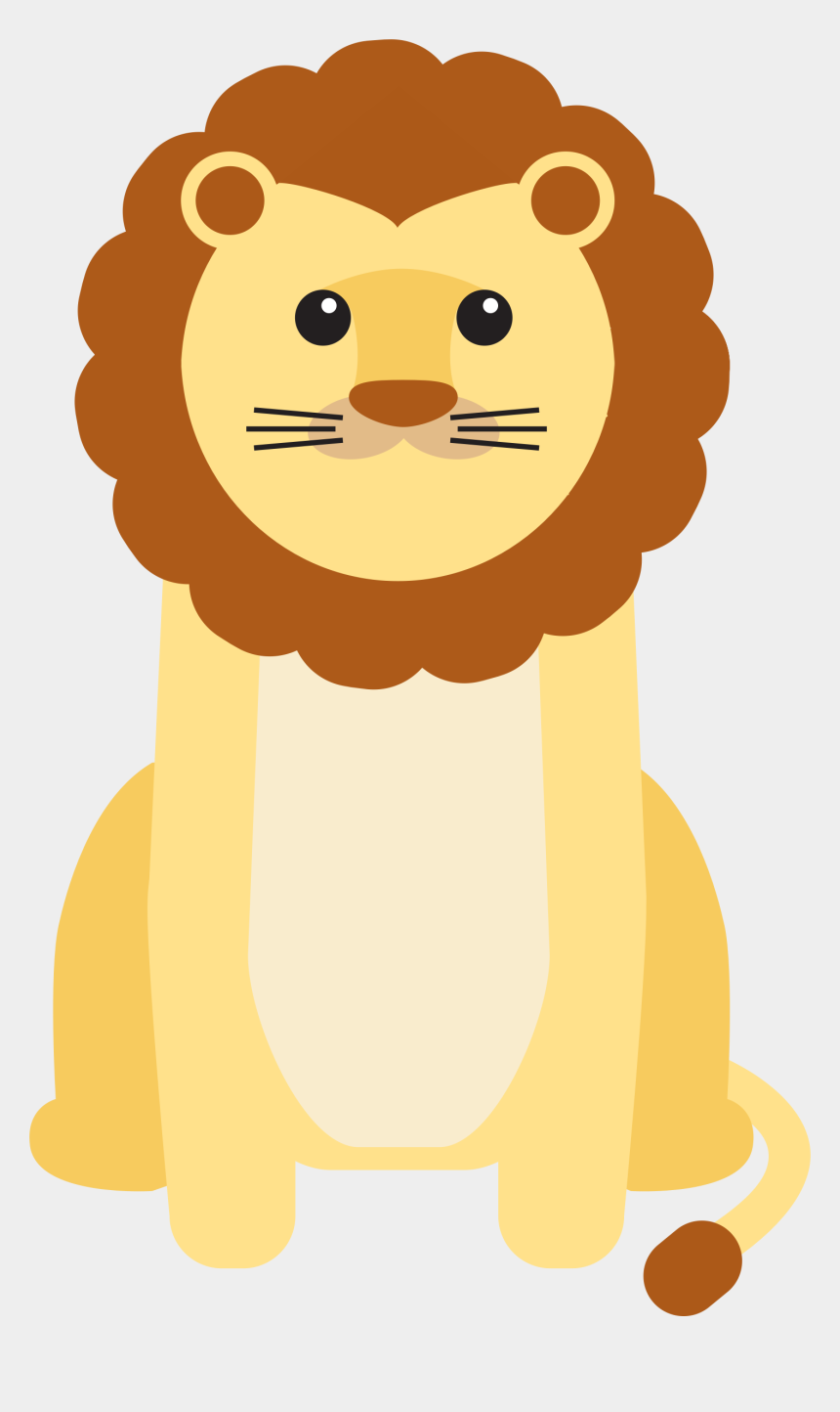 lions clipart, Cartoons - Clipart - Baby Animal Lion Vector