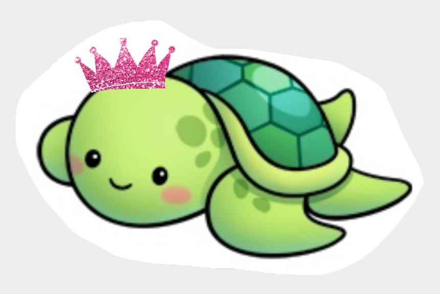 seaturtle clipart, Cartoons - #princess #turtle #mom #pink #crown - Cute Sea Turtle Drawing