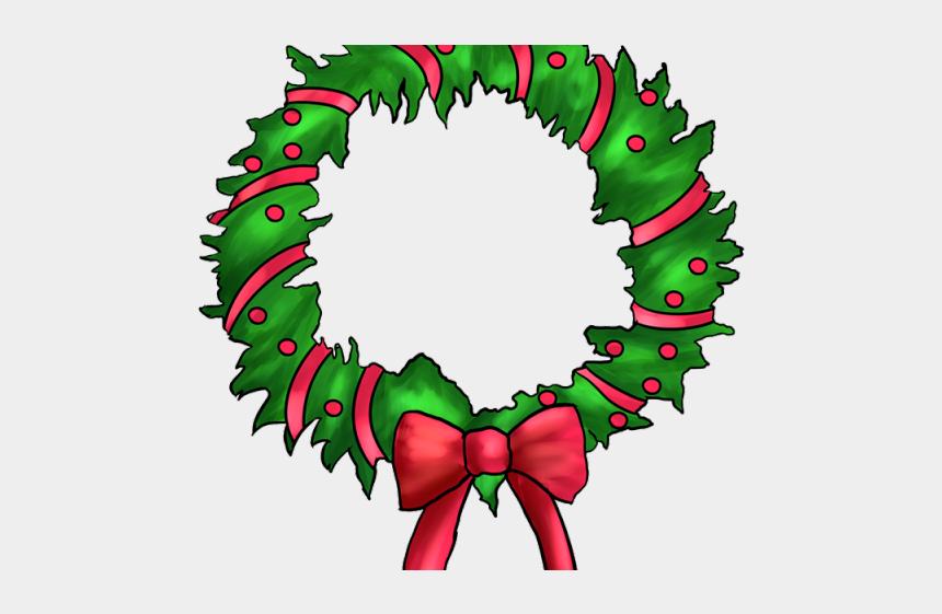 fall wreath clipart, Cartoons - Wreath Cliparts - Guirlanda De Natal Desenho Png