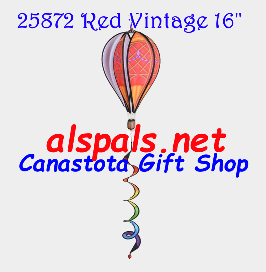 "vintage hot air balloon clipart, Cartoons - Catalog For Hot Air Balloons 16"" Wind Spinners Featured - Balloon"