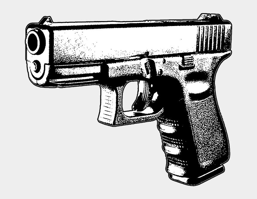 no guns clipart, Cartoons - Guns Clipart Gun Safety - Pistol