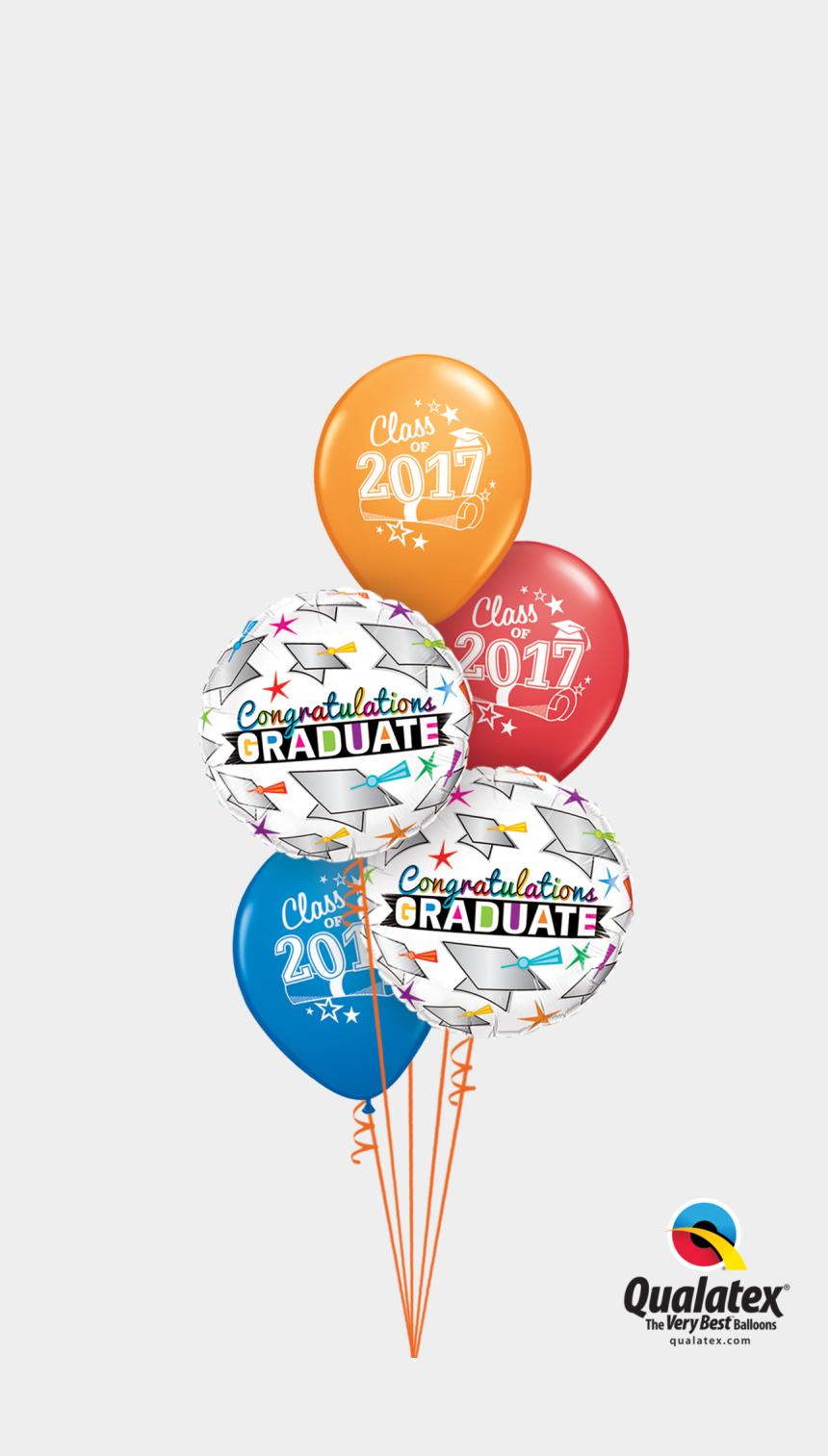 graduation cap 2017 clipart, Cartoons - Hat's Off 2017 Grad - Balloon