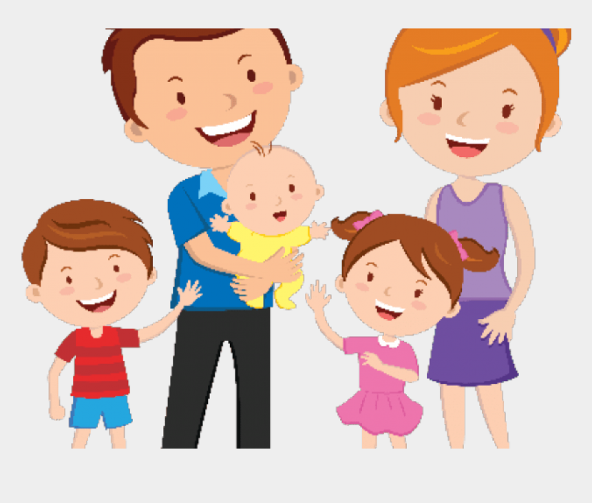 Happy Family Cliparts - Transparent Family Clipart Png ... (860 x 730 Pixel)