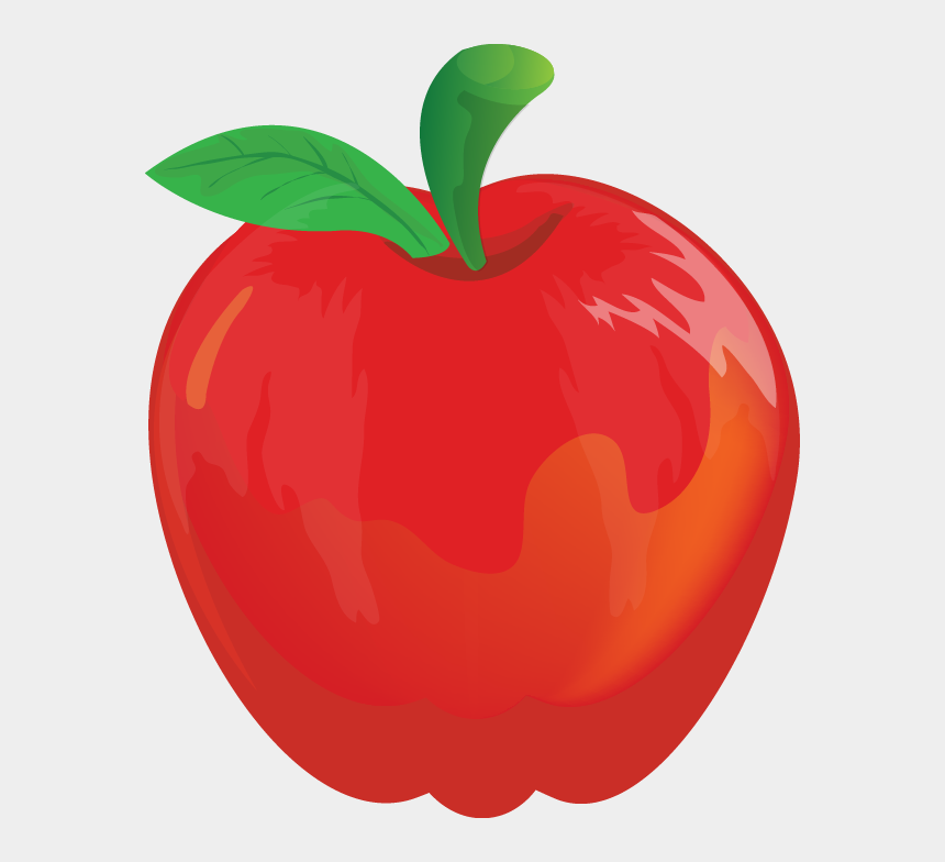 free apple clipart, Cartoons - Apple Clip Art - Red Apple Clip Art
