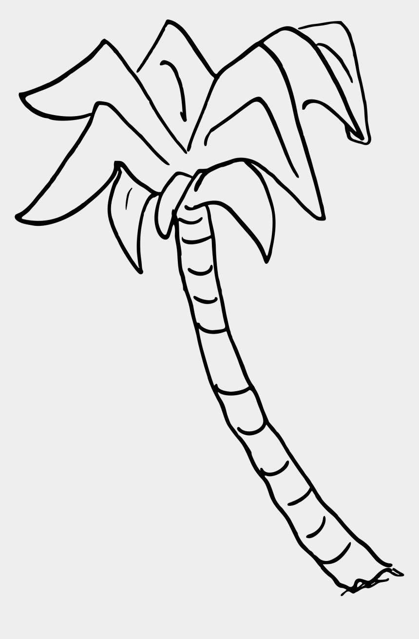 clipart palm tree, Cartoons - Clipart - Coloured Palm Tree Silhouette