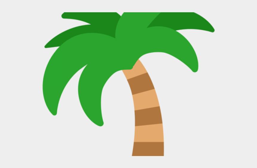 clipart palm tree, Cartoons - Emoji Clipart Palm Tree - Transparent Palm Tree Clipart