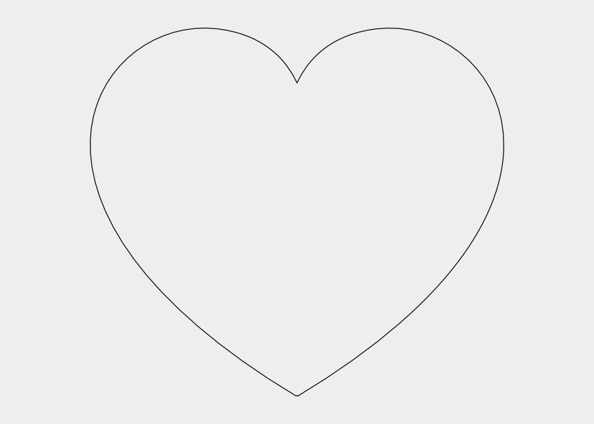 heart shapes clipart, Cartoons - Heart Shape Outline - String Art Heart Templates
