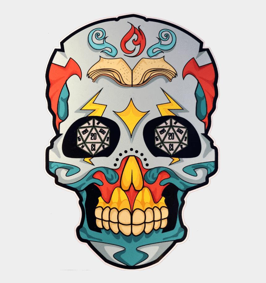 sugar skulls clipart, Cartoons - Skull