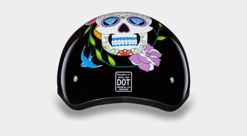 sugar skulls clipart, Cartoons - Add To My Lists - Womens Sugar Skull Motorcycle Helmet