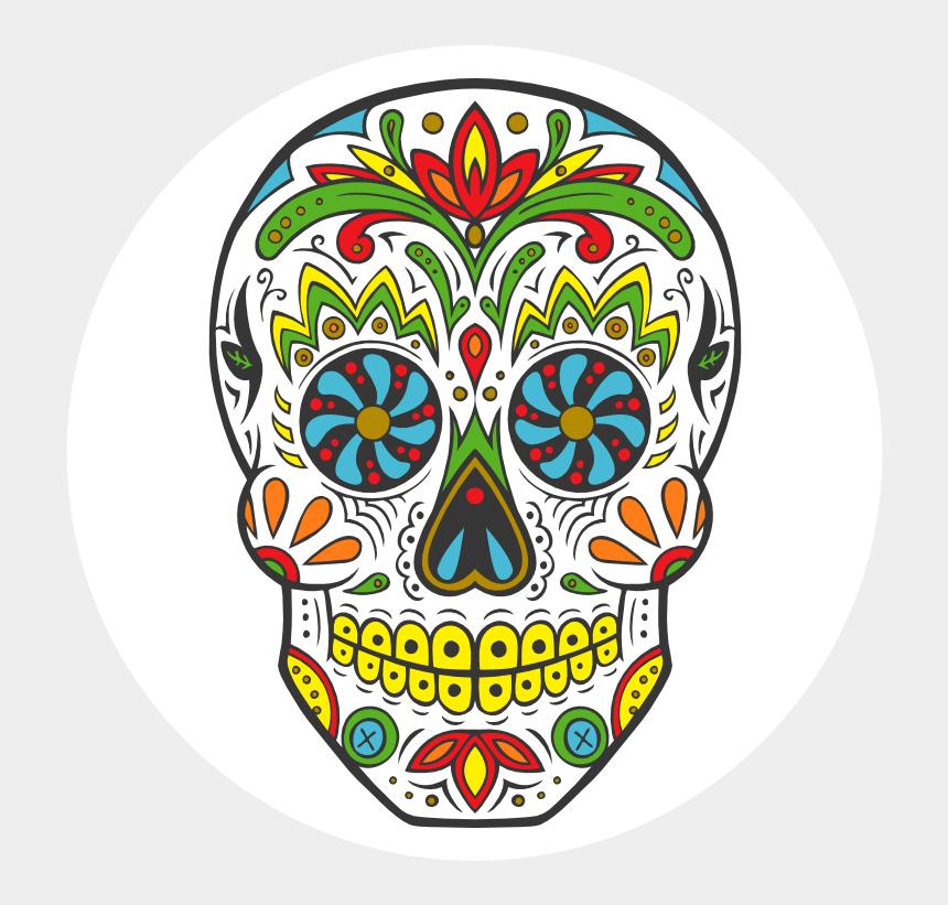 sugar skulls clipart, Cartoons - Mexico Dia De Muertos Png