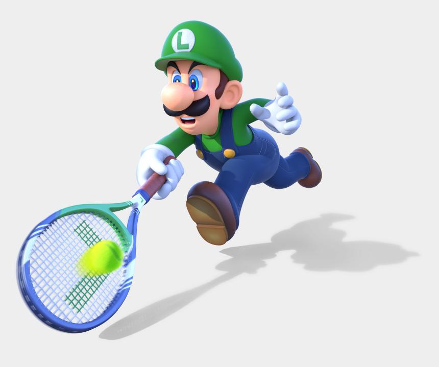 tennis racquets clipart, Cartoons - Smash Clipart Tennis - Mario Tennis Ultra Smash Png