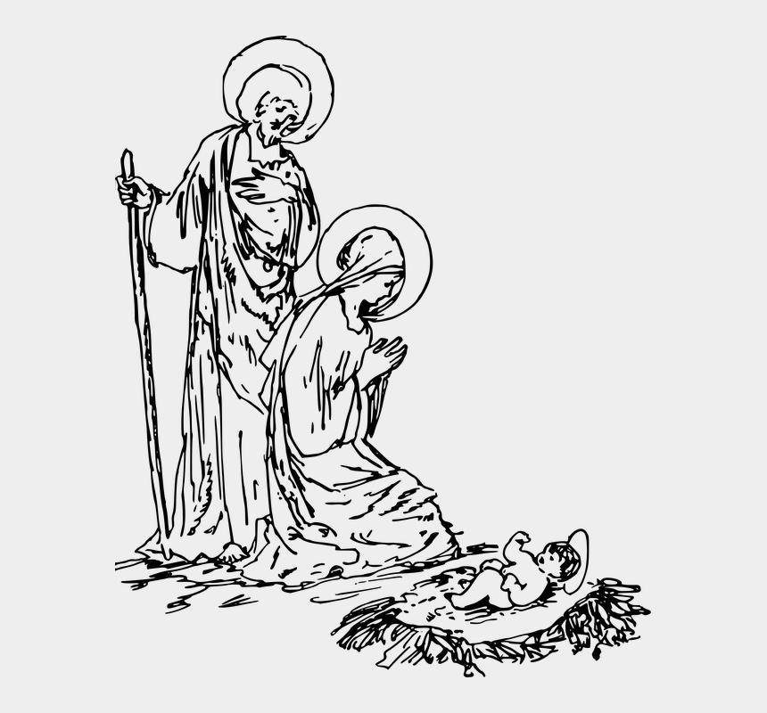 Dec 15 Nativity Scene Drawing Cliparts Cartoons Jing Fm