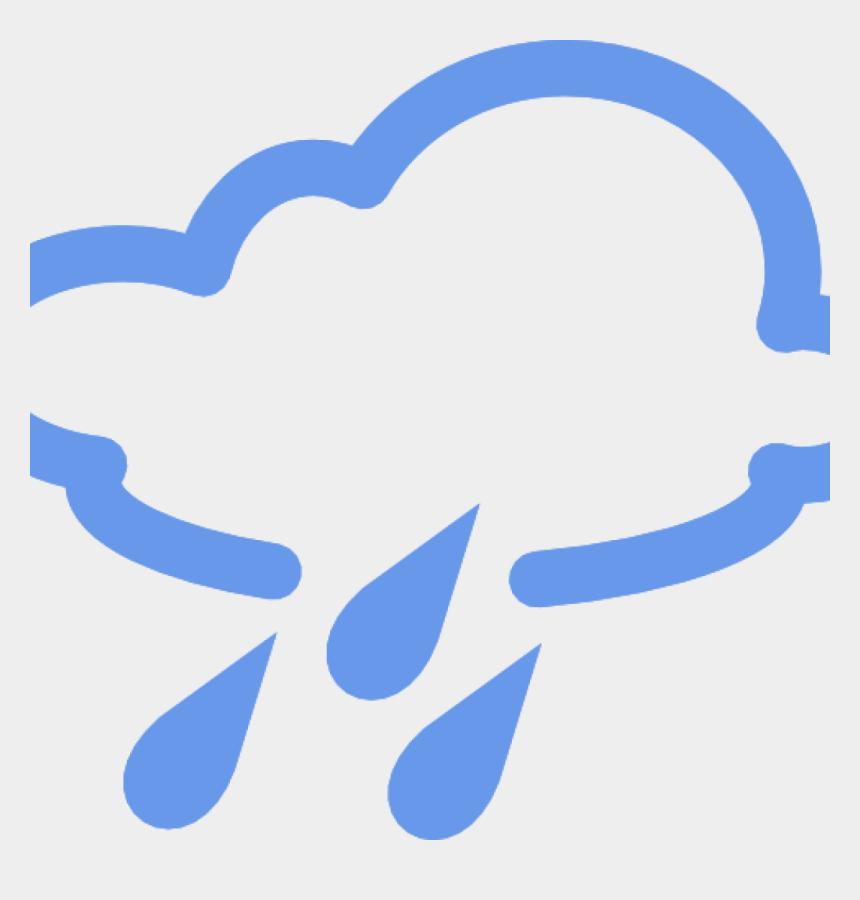 rainy days clipart, Cartoons - Rainy Clipart Weather Word - Rain Weather Forecast Symbols