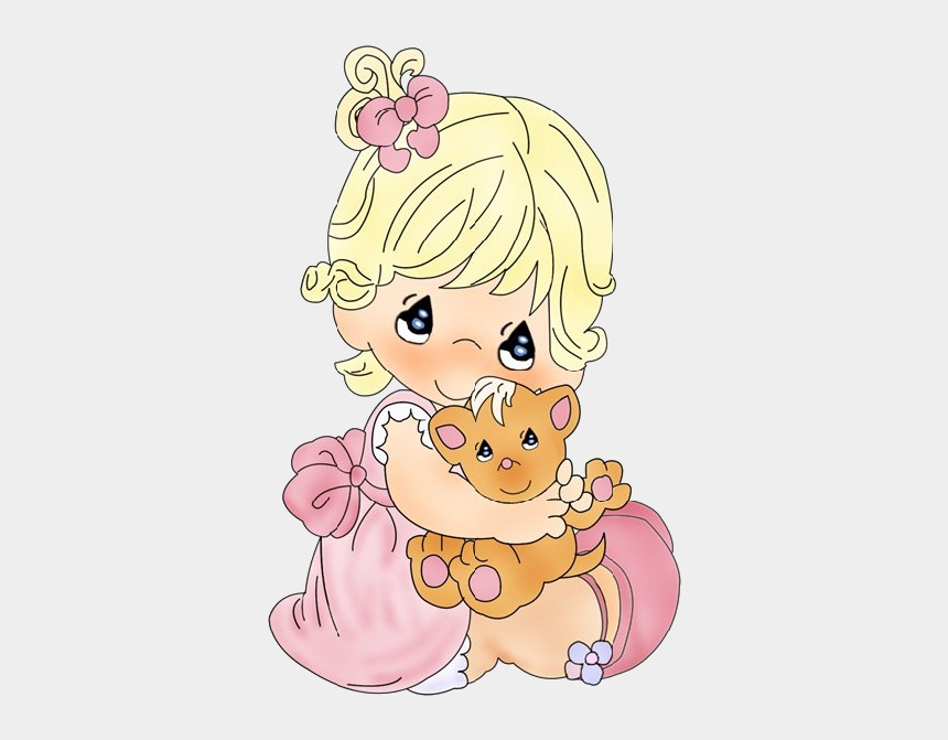 little girls clipart, Cartoons - Little Girl Clipart Cute - Clipart Cute Baby Girl Transparent