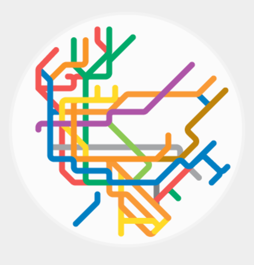 new york city clipart, Cartoons - New York City - Mini Metro Vintage Maps