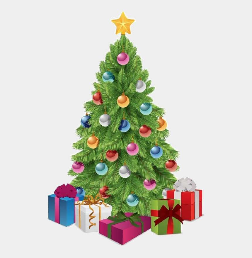 christmas trees clipart free, Cartoons - Myhome Clip Christmas Tree - Transparent Xmas Tree Png