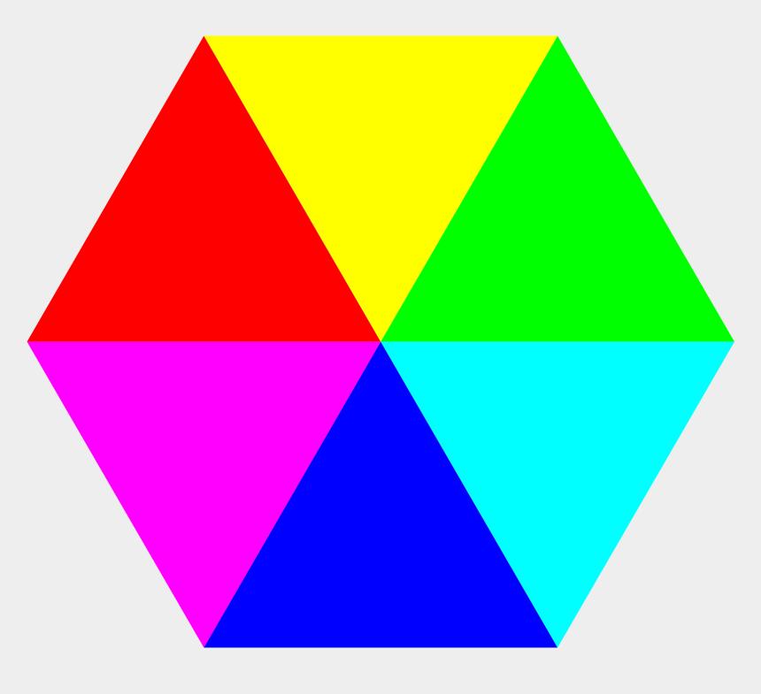 lawnmowers clipart, Cartoons - Color Clipart Hexagon - Hexagon Png