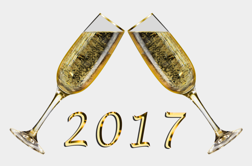 flutes clipart, Cartoons - New Years Eve Champagne Png