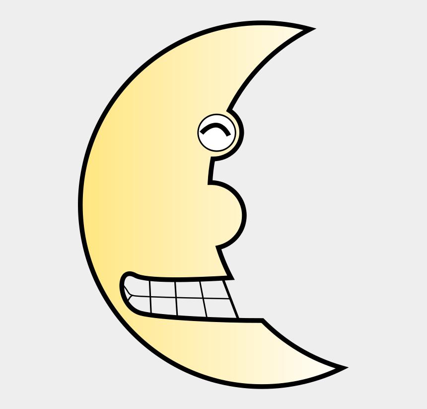 astronaut on moon clipart, Cartoons - Gambar Bulan Kartun Lucu
