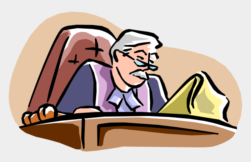 court case clipart, Cartoons - More In Same Style Group - Bench Trial Clip Art