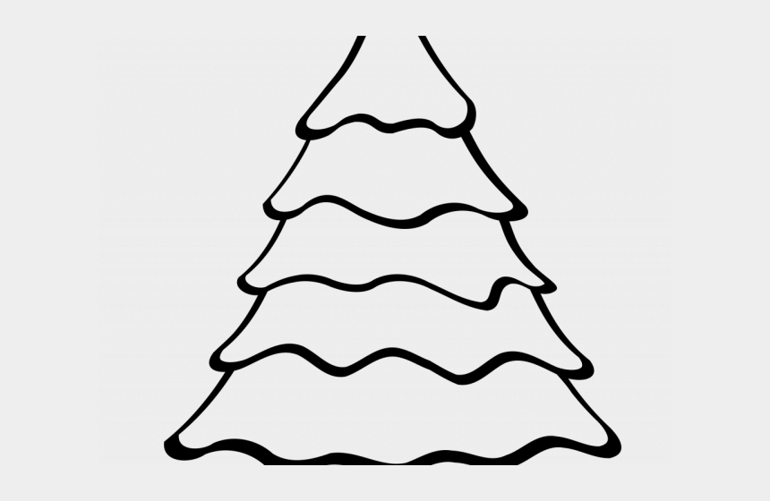 urbanization clipart, Cartoons - Christmas Tree Outline - Christmas Tree Coloring Pages