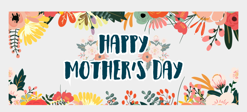 happy mom clipart, Cartoons - Happy Mother Day Png - Transparent Mothers Day Banner