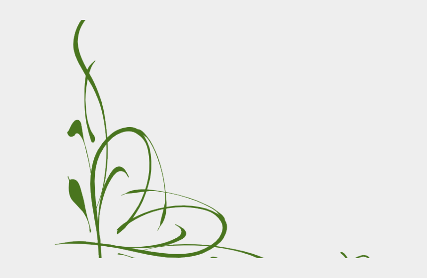 leafy vine clipart, Cartoons - Corner Vines Cliparts - Green Vines Clip Art