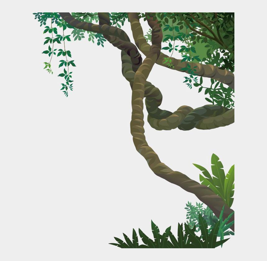 leafy vine clipart, Cartoons - Jungle Vines Png File - Jungle Vines Png