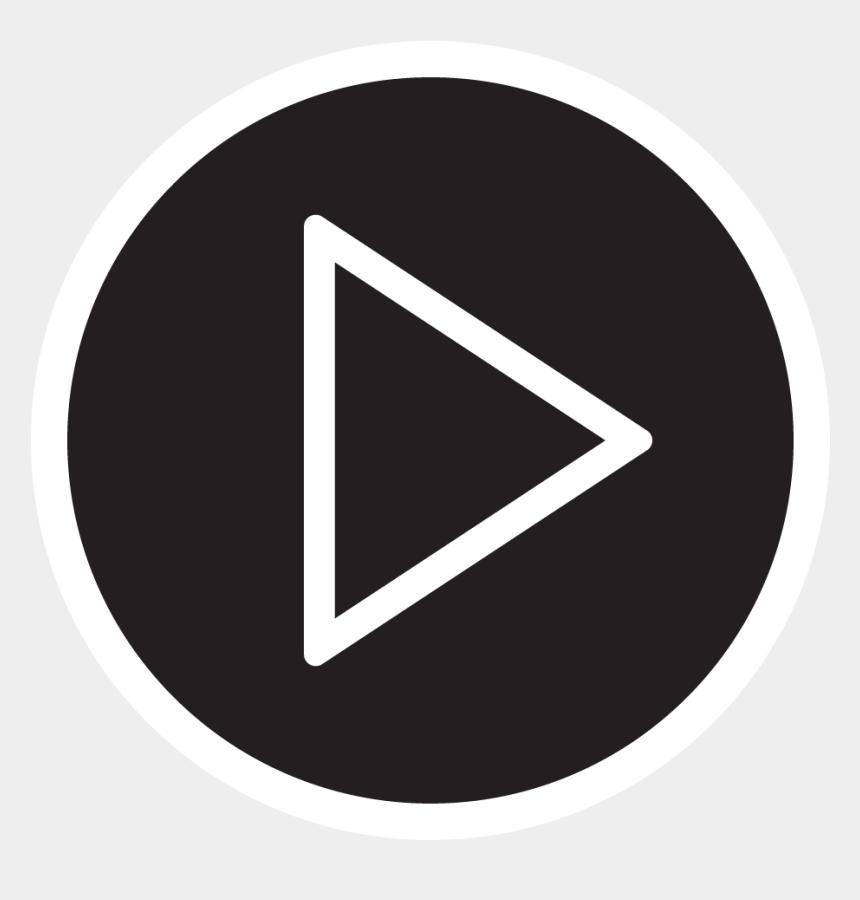 watch a movie clipart, Cartoons - Slider Gradient Play - Play Movie