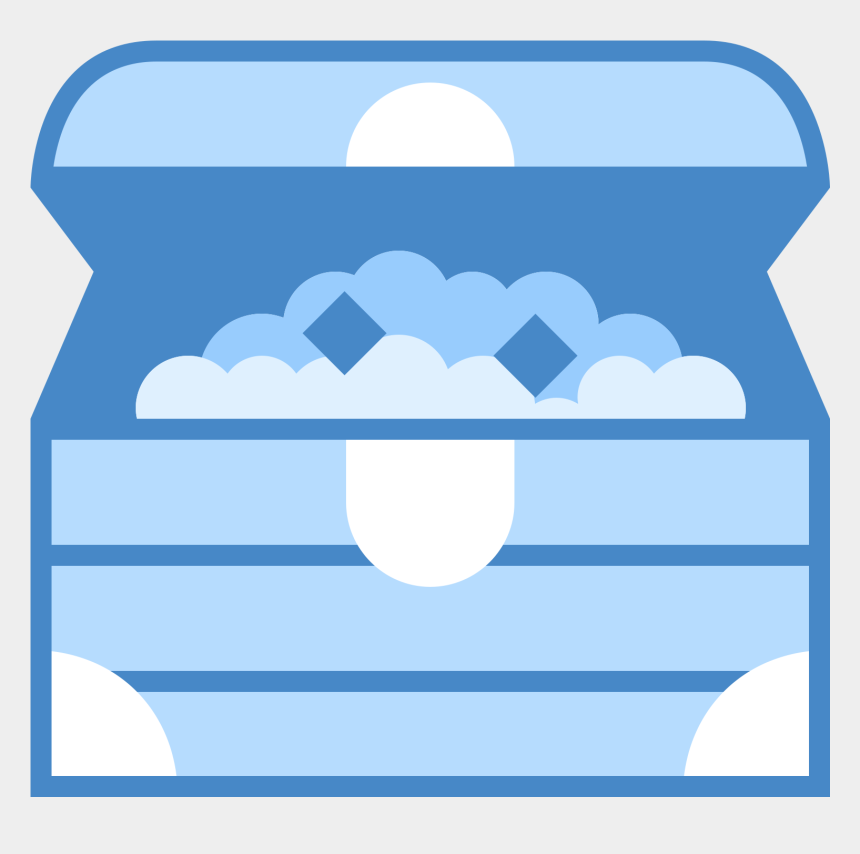 body chest clipart, Cartoons - Chest Clipart Svg - Treasure Chest Clipart Blue