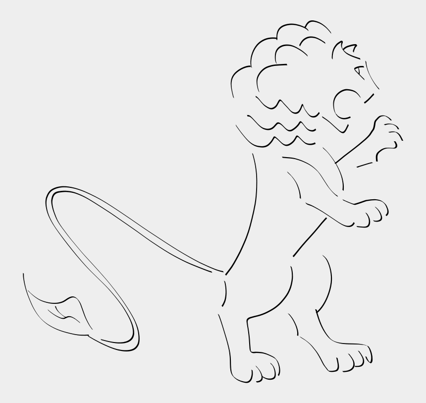 fierce lion clipart, Cartoons - Drawing