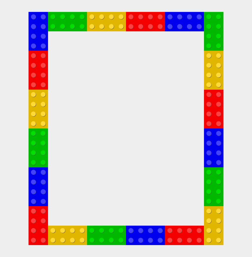 lego head clipart, Cartoons - Legos Transparent Border - Frame Lego Border