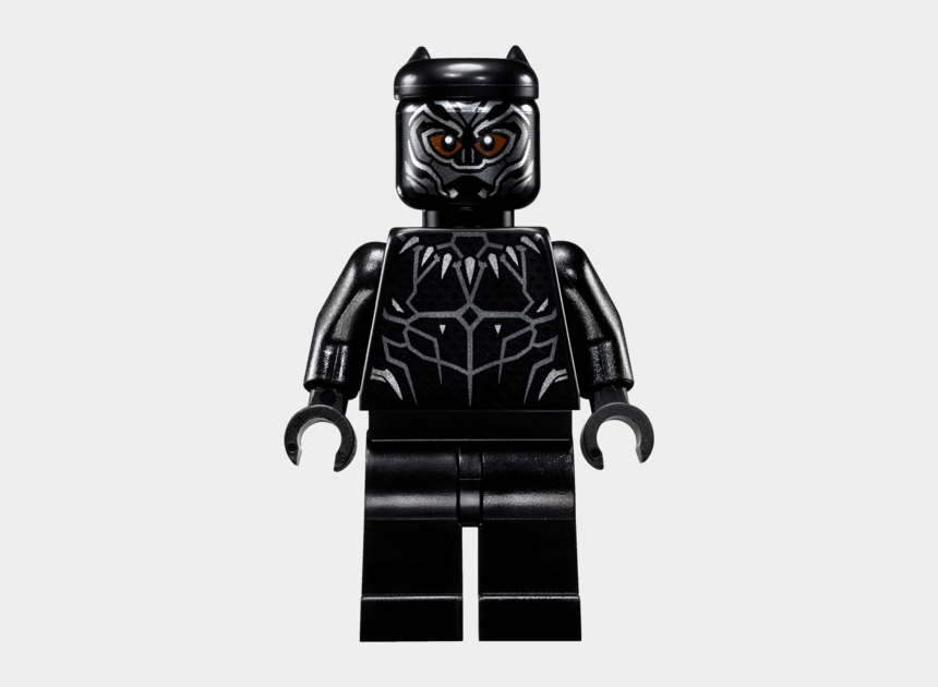 lego head clipart, Cartoons - Transparent Lego Black And White - Lego Black Panther 2018