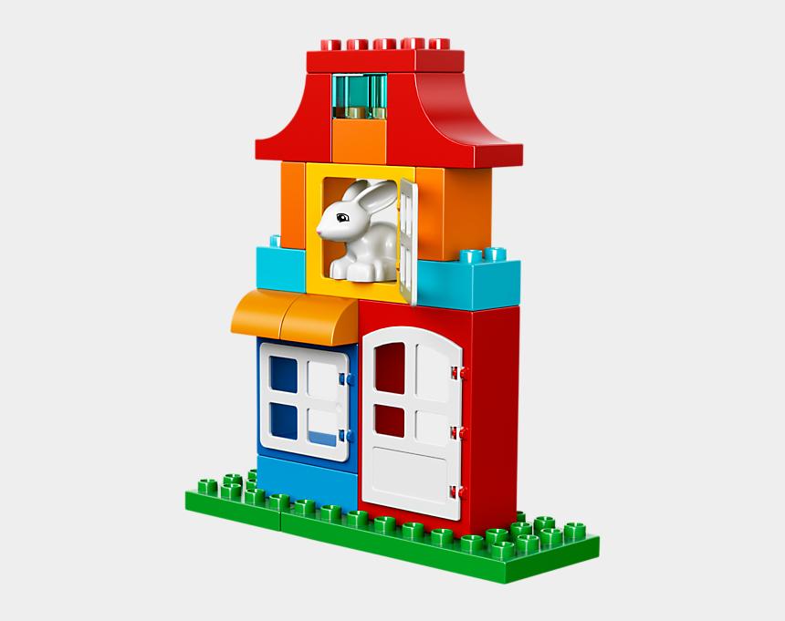 lego head clipart, Cartoons - Lego Duplo Deluxe Box Of Fun - Lego Duplo 10580