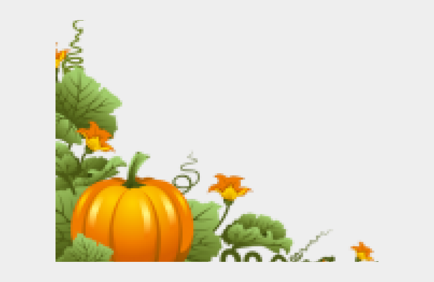 pumpkin clipart black and white vines, Cartoons - Pumpkin Vine Clipart - Pumpkin Vine Border