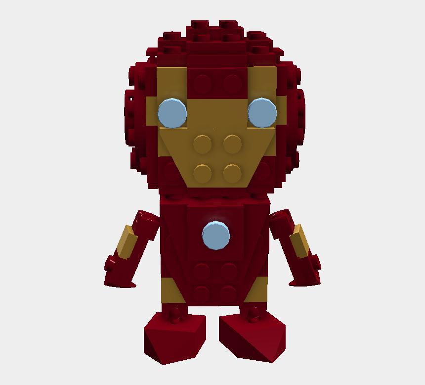 lego head clipart, Cartoons - Lego Iron Man Png - Robot