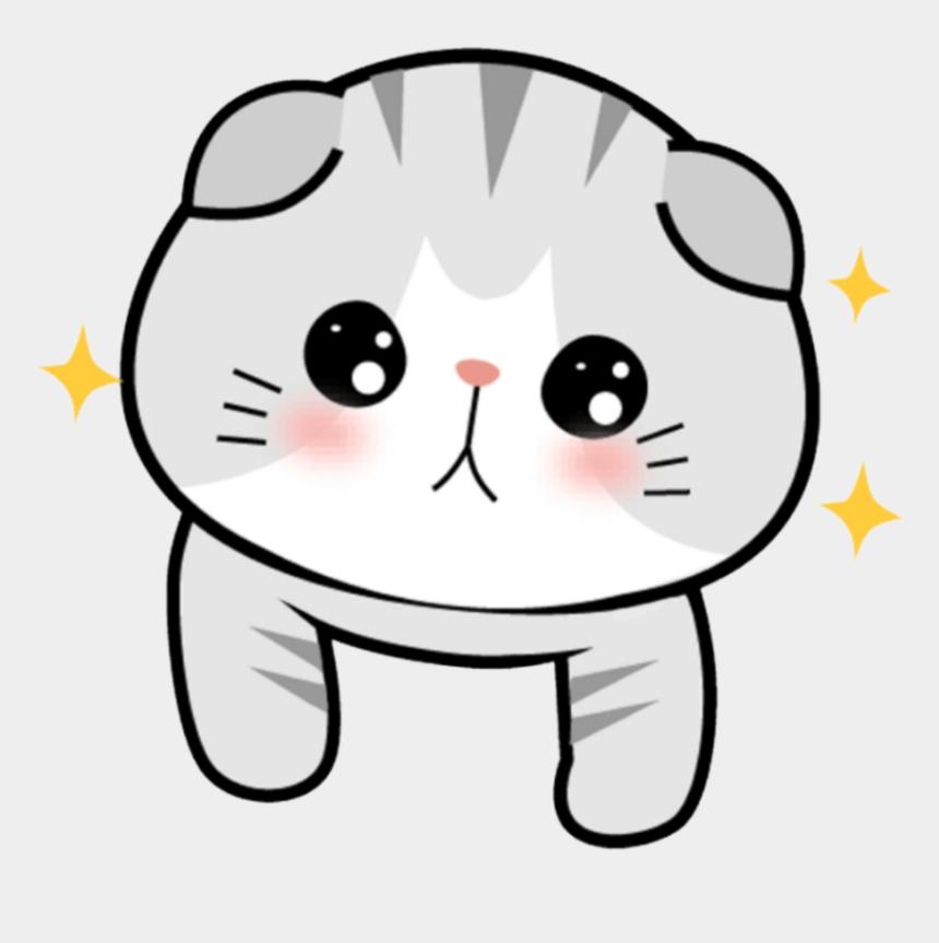 gato clipart, Cartoons - #pet #animal #cat #gato #chibi #kawaii #cute #sonrojo - Chibi Cute Cats Png