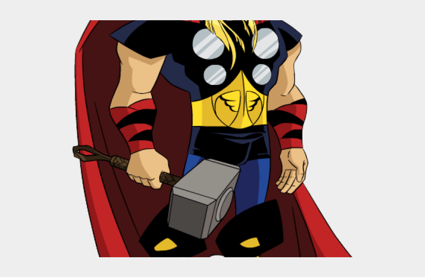 thor hammer clipart, Cartoons - Thor Clipart Emh - Avengers Printable Cake Toppers
