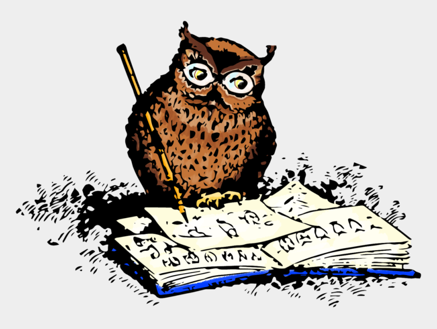 "owl with pencil clipart, Cartoons - ""they Laughed When I Picked Up My Pencil To Draw But - Owl Draw Png"