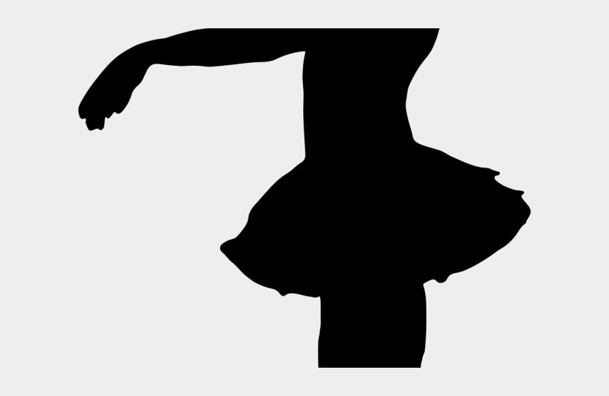 ballerina clipart black and white, Cartoons - Ballerina Clipart Transparent Background - Silhouette